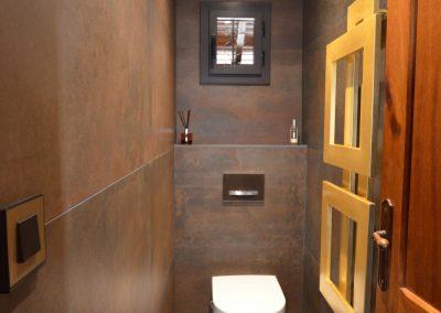 Rénovation coin WC dans le Pays de Gex