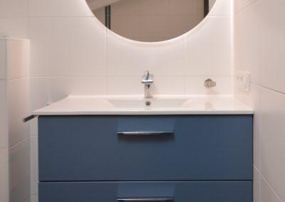Remplacement meuble de salle de bains